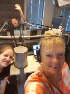 Anke, Roy en Nathalie